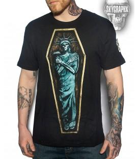 Skygraphx Shirt Lady Liberty
