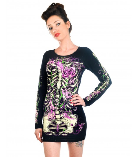 Jawbreaker Dress Skeleton