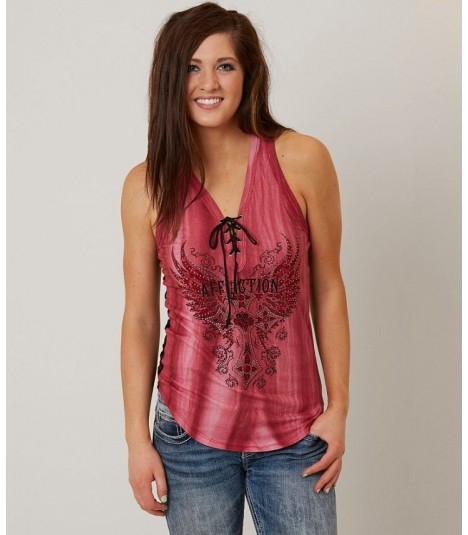Affliction Tank Margo Tie Up