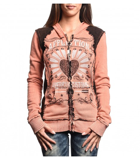 Affliction Hoody Sweet Whisky