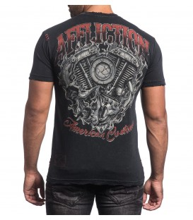 Affliction Shirt Overheat
