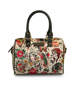 Loungefly Tasche Tattoo Bowler