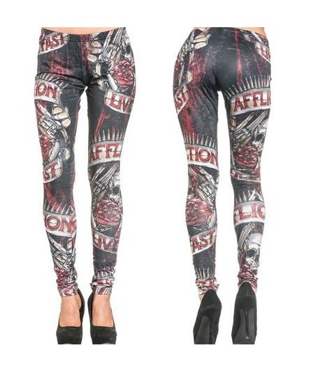 Affliction Leggings Hollow Point
