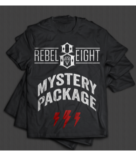 Rebel 8 MYSTERY PACKAGE / 3 Herren Shirts