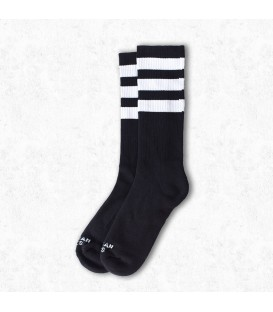 American Socks Back in Black Mid High