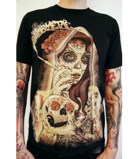 Barmetal Shirt Smoking Lady