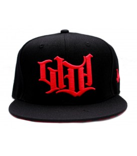 4AmazINK People Snapback Cap Red Logo