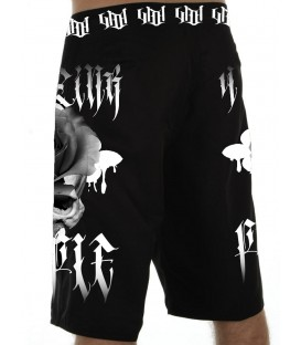 4AmazINK People Boardshorts Skull Rose