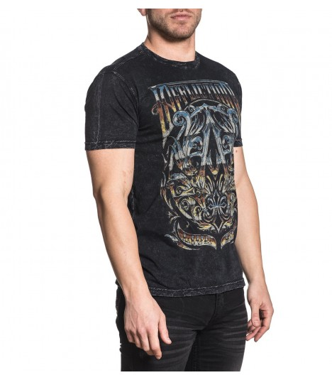 Affliction Shirt A Frame Chrome