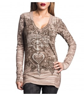 Sinful by Affliction Longsleeve 2 in 1 Reversible