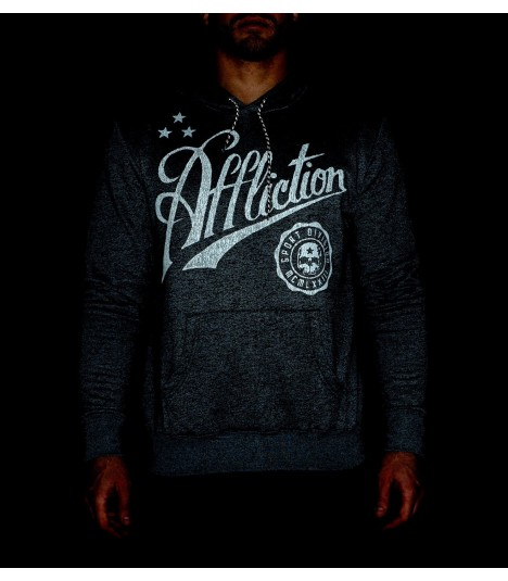 Affliction Hoody Skull Sport