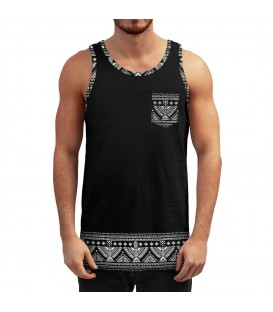 Wicked One Tank Native Black