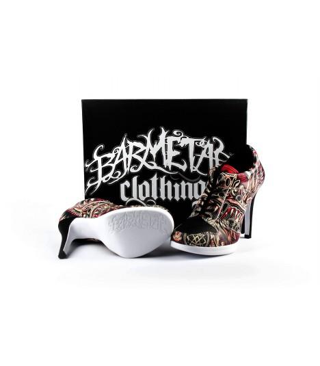 Barmetal Sneaker Heels Dragon