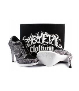 Barmetal Sneaker Heels Mandala