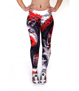 Barmetal Leggings Knowledge is Power