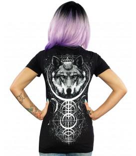 Skygraphx Shirt Lone Wolf Women