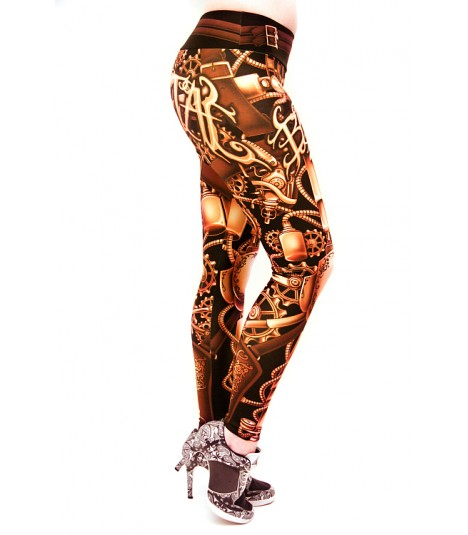 Barmetal Leggings Steampunk