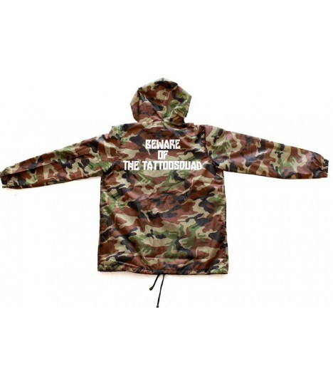 4AmazINK People Windbreaker Camo