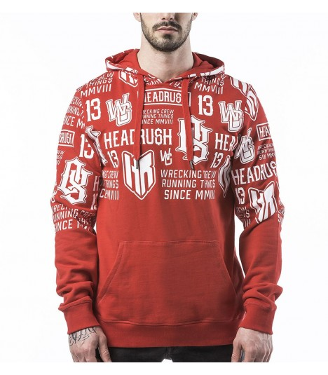 Headrush Hoody The Kaporal Red