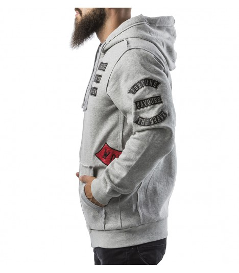 Headrush Hoody The Scat Grey