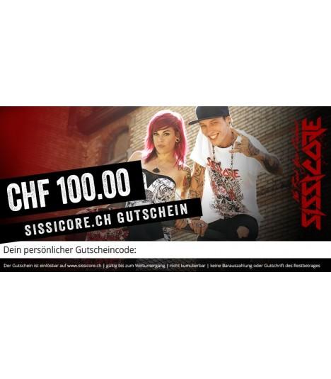 Sissicore Geschenkgutschein CHF 100.00
