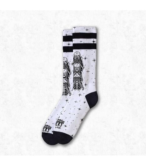 American Socks Wise Monkeys Mid High