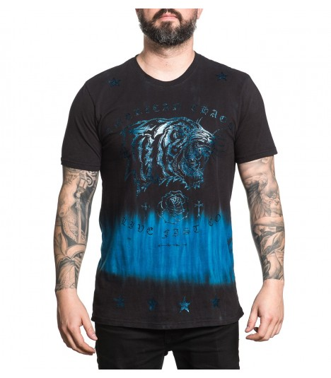 Affliction Shirt Tiger Blood