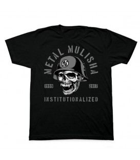 Metal Mulisha Shirt INSTITUTIONLIZED Schwarz