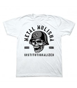Metal Mulisha Shirt INSTITUTIONLIZED Weiss