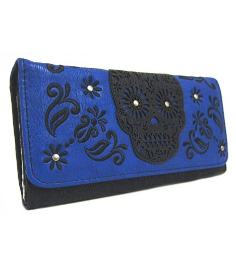 Loungefly Portemonnaie Laser Cut Blue