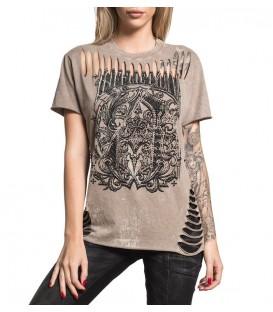 Affliction Shirt A Frame Split