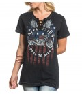 Affliction Shirt Wild Side
