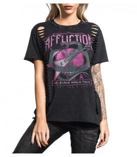 Affliction Shirt Miki Black - Signature Series