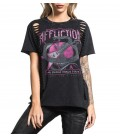Affliction Shirt Miki Black - Signature Series