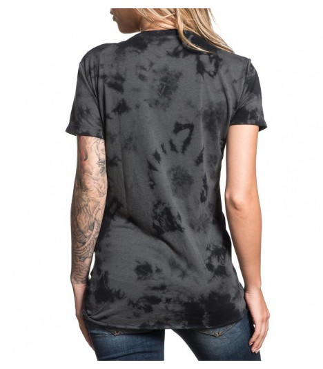 Affliction Shirt Roadie Split