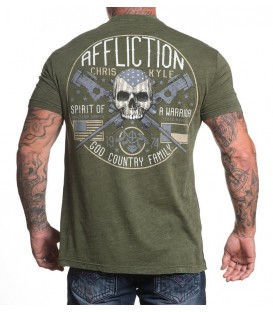Affliction Shirt CK Warrior Spirit