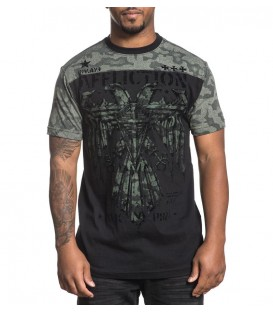 Affliction Shirt Silent Eagle