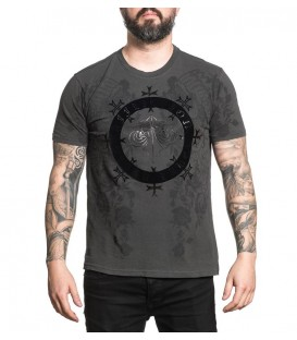 Affliction Shirt Black Bounty