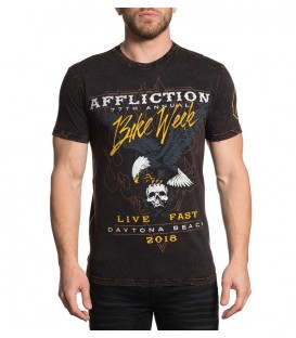 Affliction Shirt Bike Week