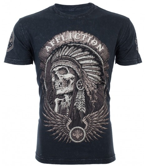 Affliction Shirt Thunderfoot