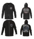 Affliction Zip Hoody 2 in 1 Reversible