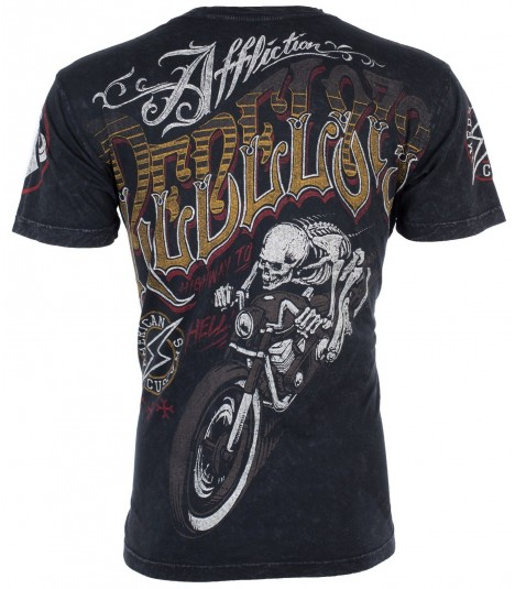 Affliction Shirt Rebel Riders