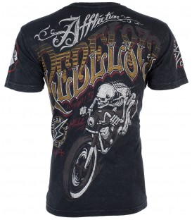 Affliction Shirt Rebel Riders