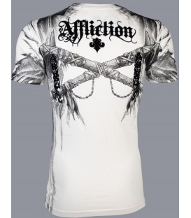 Affliction Shirt Indian Chief
