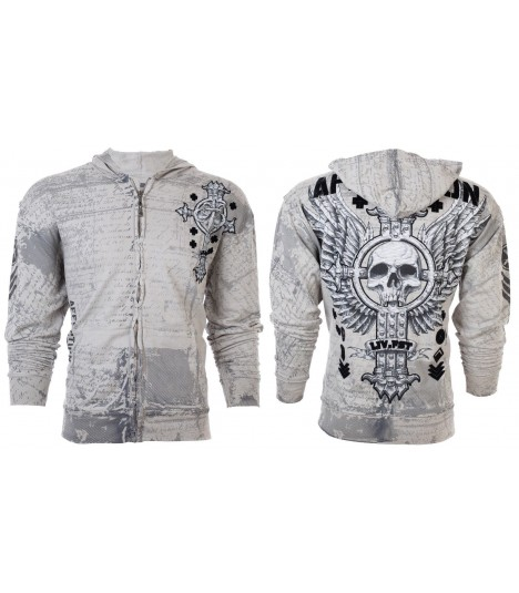 Affliction Zip Hoody Rapido