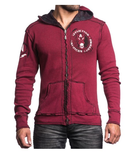 Affliction 2 in 1 Reversible Hoody