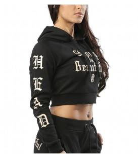 Headrush Croptop Hoody The Bond