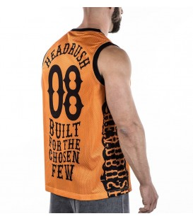 Headrush Basketball Tank The Walk of Punishment Orange