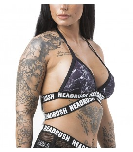 Headrush Bikini Top Strong as Marble Black