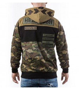 Headrush Hoody The Currahee Cut and Sew